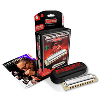 HOHNER MARINE BAND THUNDERBIRD Low C Major Harmonica