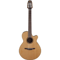 TAKAMINE P3FCN PRO 3 SERIES Classical Acoustic/Electric Guitar in Natural Satin