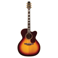 TAKAMINE EF250TK ARTIST SIGNATURE TOBY KEITH Jumbo Acoustic/Electric Guitar in Sunburst