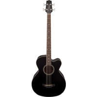 TAKAMINE GB30CE G SERIES Jumbo Acoustic/Electric Bass Guitar in Black