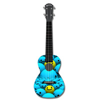 KEALOHA AUP24/43 Concert Ukulele with Who's Smiling Now Pattern