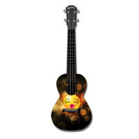 KEALOHA AUP24/45 Concert Ukulele with Lipstick Smiley Pattern