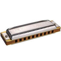 HOHNER 532GX BLUES HARP Diatonic Harmonica in G 10 Hole 20 Reed