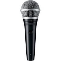 SHURE PGA48 Dynamic Vocal Microphone with 1/4 Inch Jack and Cable