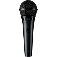 SHURE PGA58 Dynamic Vocal Microphone with on/off Switch and 1/4 Inch Jack and Cable
