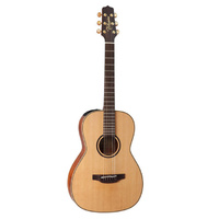 TAKAMINE CP3NYK CUSTOM PRO 3 Parlour Acoustic/Electric Guitar in Natural Satin