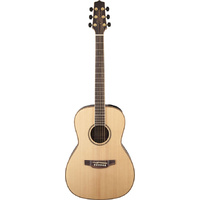 TAKAMINE GY93ELH 6 String Left Hand Parlour Acoustic/Electric Guitar in Natural TGY93ENATLH