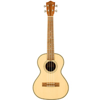 LANIKAI LSPST SOLID SPRUCE TOP Tenor Ukulele in Natural Satin with Quality Bag