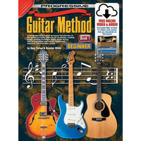 KOALA 54048 KPGM1X Progressive Guitar Method Book 1 with Online Media