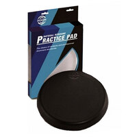 DIXON 8 Inch Rubber Drum Practice Pad in Black PDP08DXBX