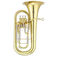JUPITER JEP700 B Flat Euphonium with Brass Lacquered Body and Moulded Case