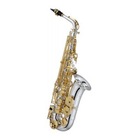 JUPITER JAS1100SGQ Alto Saxophone, Silver & Gold with Case