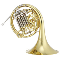 JUPITER JHR1100 Double F/B Flat French Horn Lacquered Brass Body with Case
