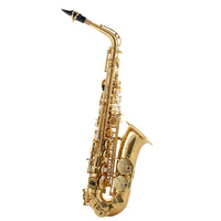 JUPITER JAS700Q High F Sharp Alto Saxophone in Gold Lacquer with Case