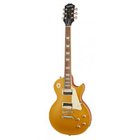 EPIPHONE LES PAUL CLASSIC WORN Electric Guitar in Worn Metallic Gold