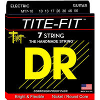 DR TITE-FIT 10/56 Electric Strings Set Medium 7 Strings MT7-10