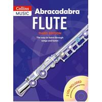 ABRACADABRA Flute Book with 2 CD's 3rd Edition by Malcolm Pollock