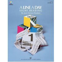 KJOS A Line a Day Sight Reading Level 2 By Jane Bastien