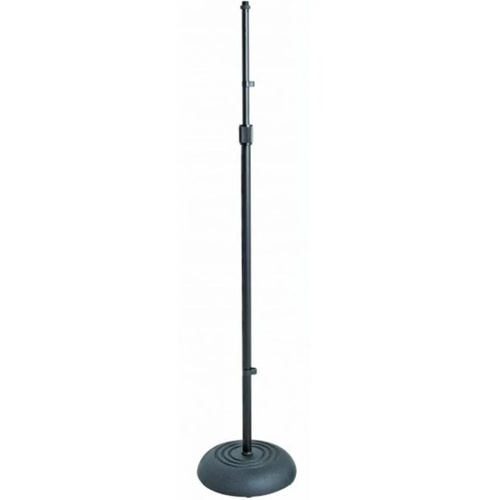 XTREME MA367B Microphone Stand with Round Cast Base in Black