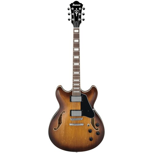 IBANEZ ARTCORE AS73 Hollow Body Electric Guitar in Tobacco Brown