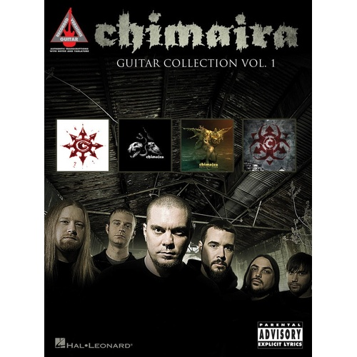 CHIMAIRA GUITAR COLLECTION VOL 1 Guitar Recorded Versions NOTES & TAB