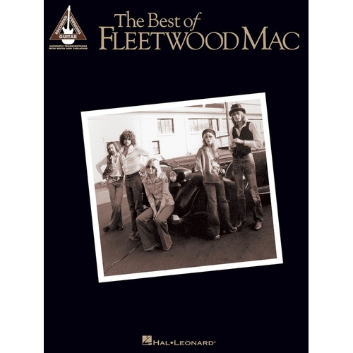 FLEETWOOD MAC THE BEST OF Guitar Recorded Versions NOTES & TAB