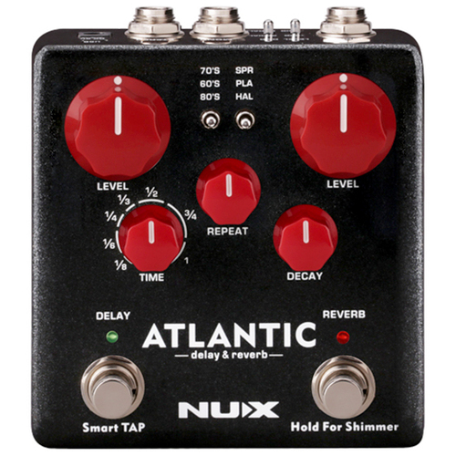 NUX VERDUGO Atlantic Multi Delay and Reverb Guitar Effects Pedal