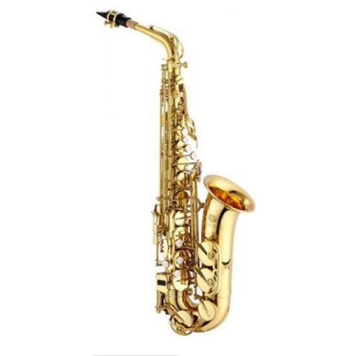JUPITER JAS500A E Flat Alto Saxophone in Lacquered Brass Body with Case
