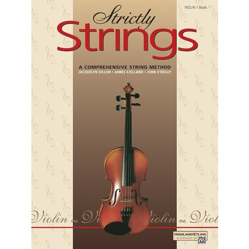 ALFREDS Strictly Strings Book 1 Violin Part